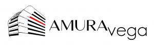 Logo Amuravega hogar apaisado