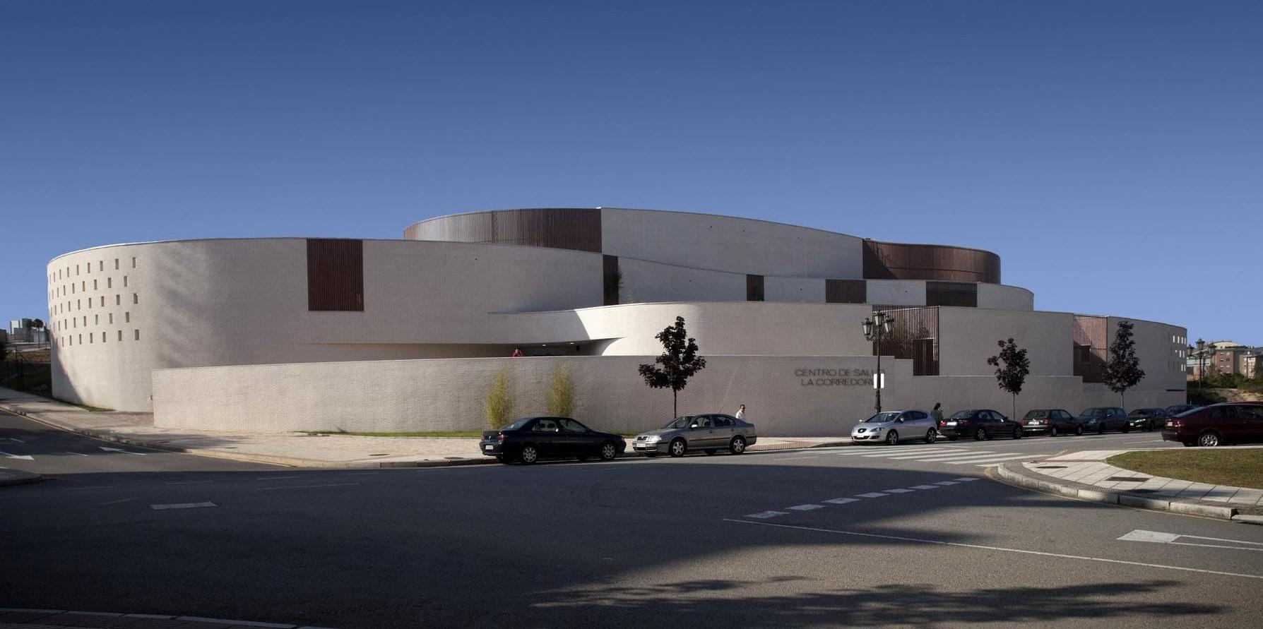 Centro de Salud La Corredoria, panorámica