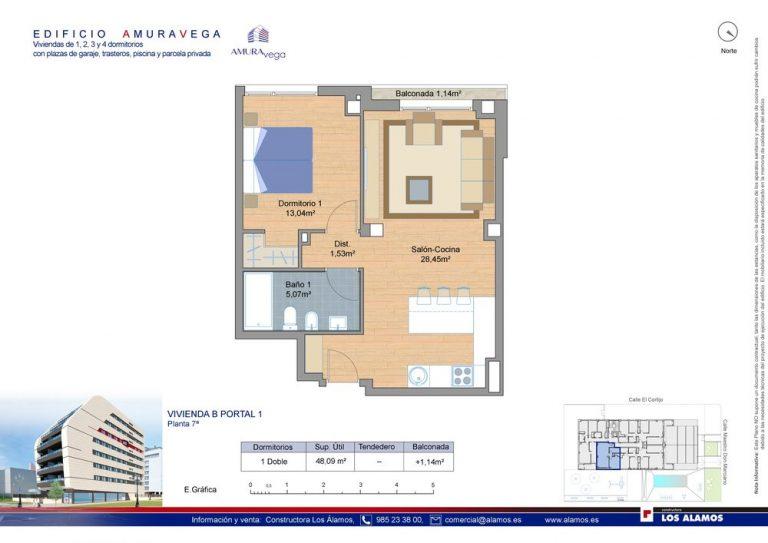 1 habitación-pisos-de-obra-nueva-la-corredoria