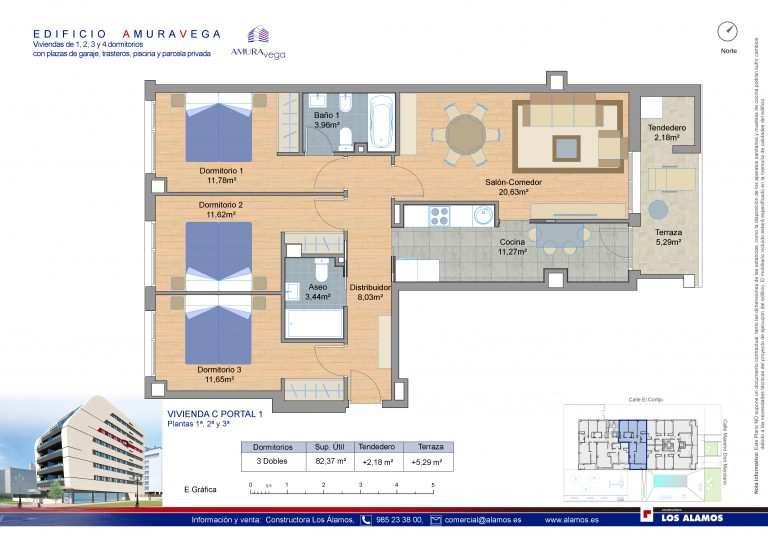 3 habitaciones-pisos-de-obra-nueva-la-corredoria